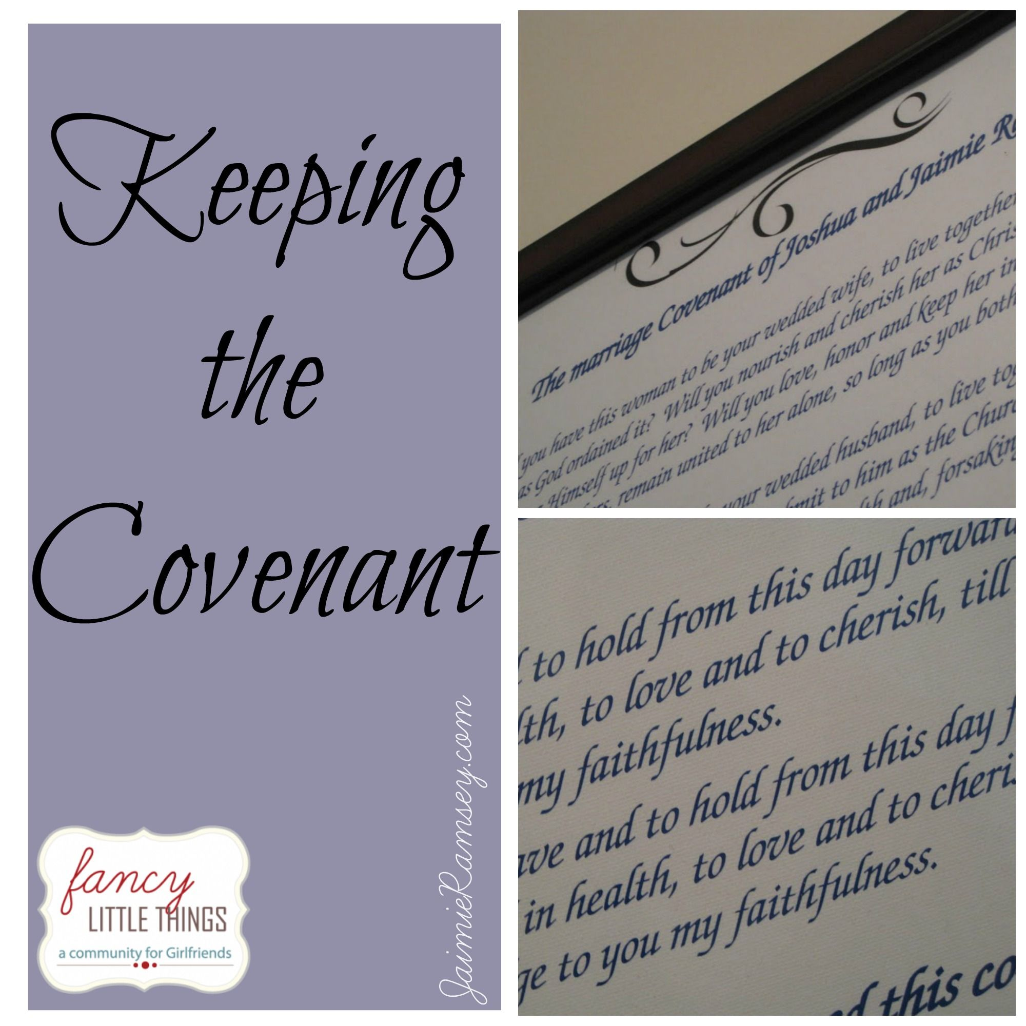 Keeping The Covenant Collage