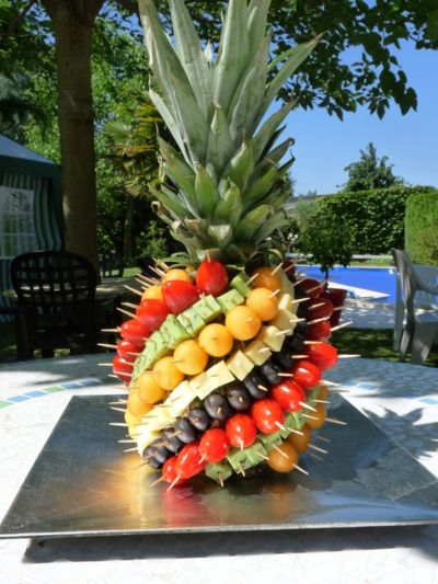 Ananas pics ap ro ap ritif pinterest ap ro ap ritif et amuse gueules - Sur quoi pousse les ananas ...
