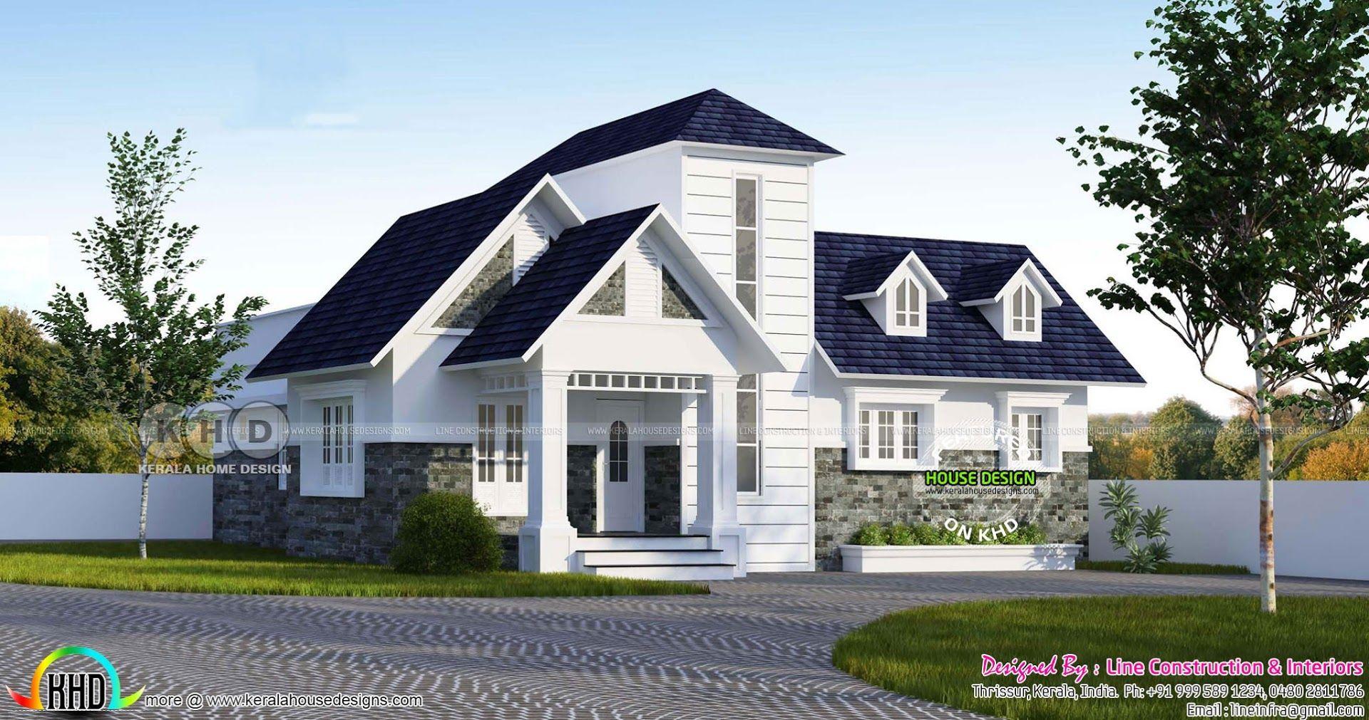 double storied look like single floor european model home luxury rh pinterest com