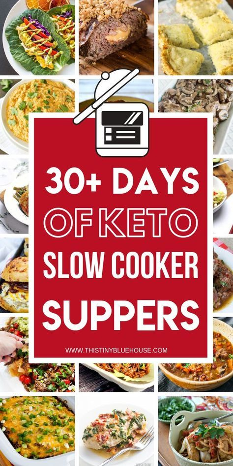 75 Mouthwatering Crock Pot Keto Dinners