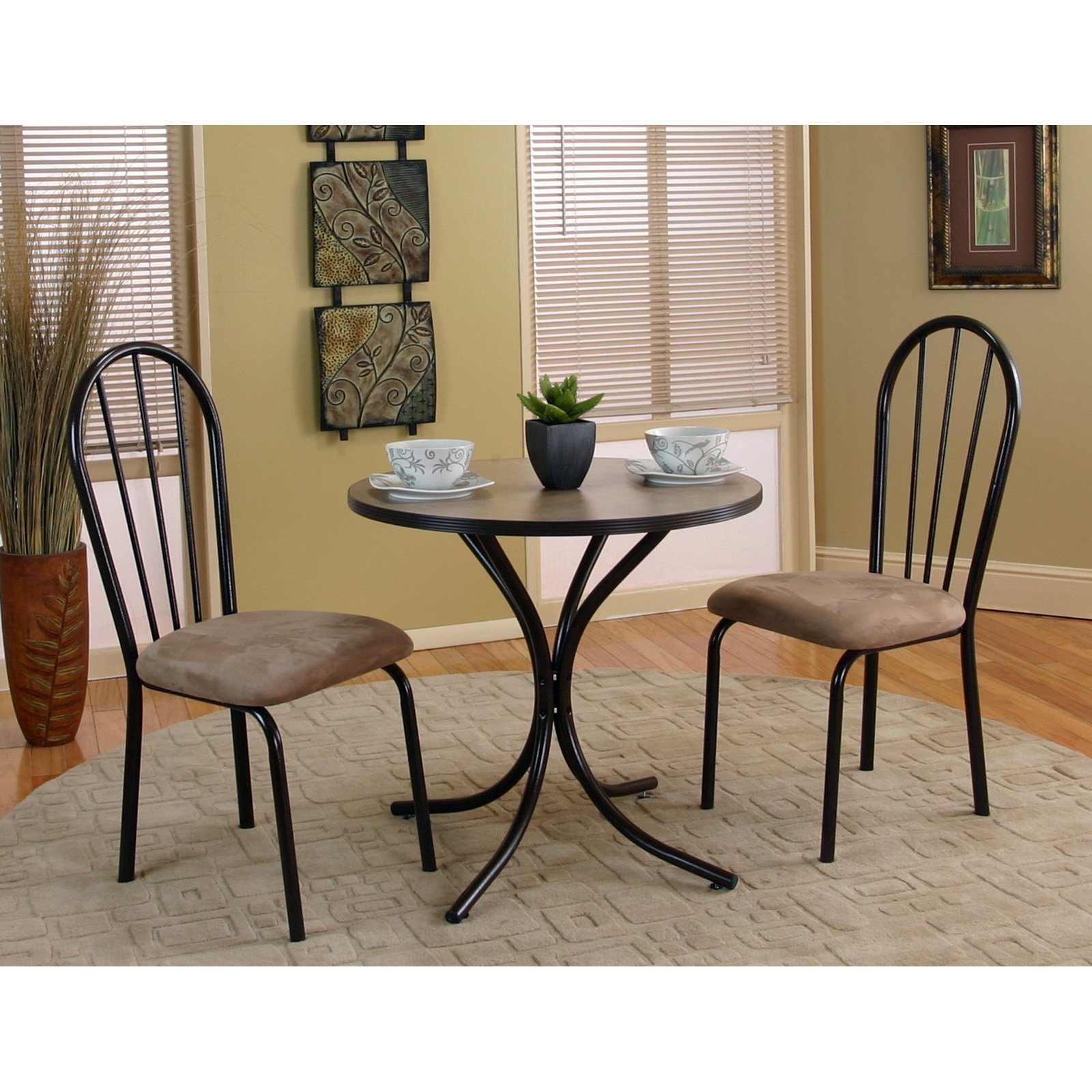 sunset trading linen 3 piece dining table with 2 chairs in 2019 rh pinterest com