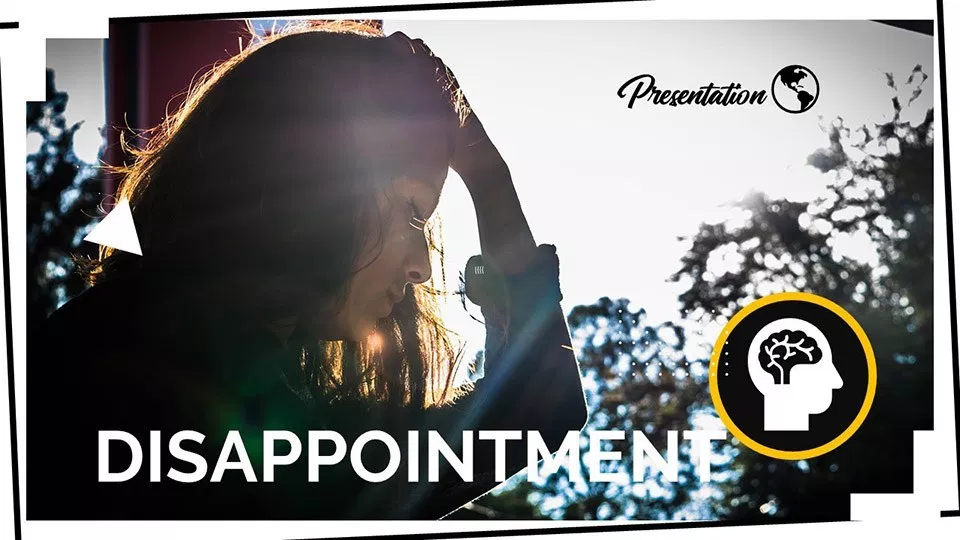Disappointment Presentation Template Myfreeslides Presentation Presentation Templates Cute Background Pictures