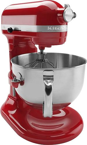 KitchenAid - Professional 600 Series Stand Mixer - Empire Red ... on kitchenaid mixers on sale, kitchenaid mixer 500 series, kitchenaid mixer 600 white, kitchenaid professional series, kitchenaid mixer 6500 series, kitchenaid stand mixer pro series,