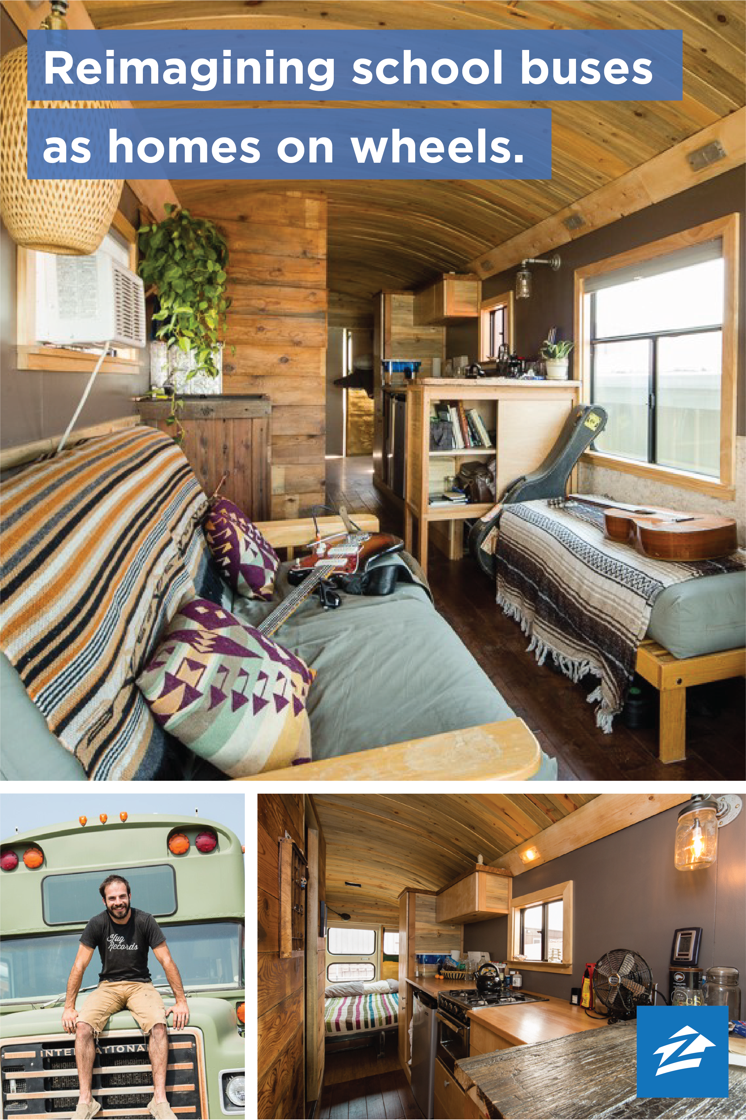 Wild Ride Turning School Buses Into Homes On Wheels Bus House