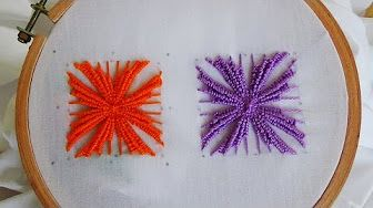 Hand Embroidery: Phulkari stitch - YouTube