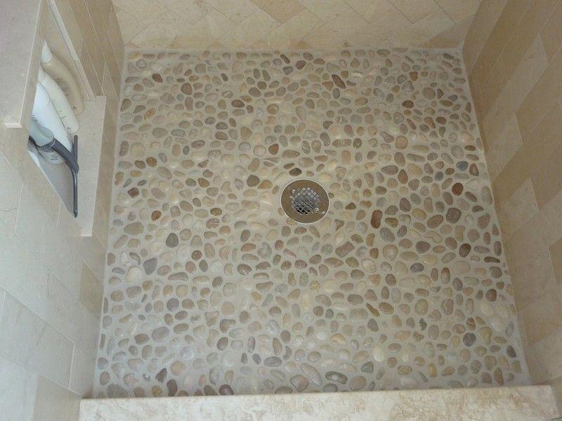 Modern Mosaic Tile Shower Floor Google Search Ideas For Master