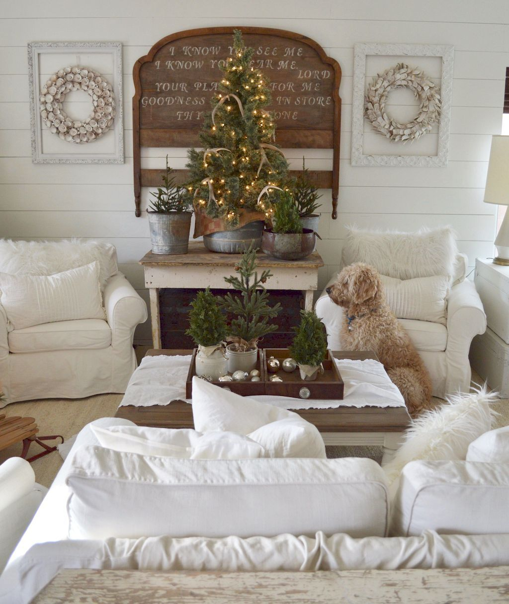 design up the look of your living room for christmas event rh pinterest com