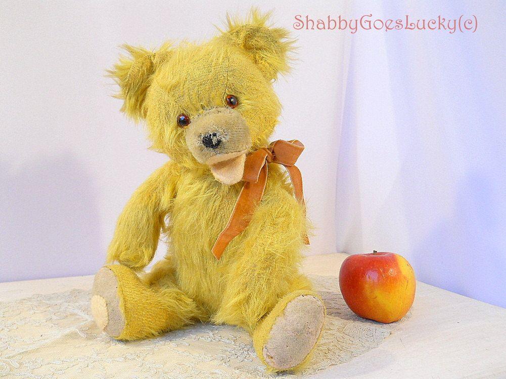 Bears old 1950s teddy Irish