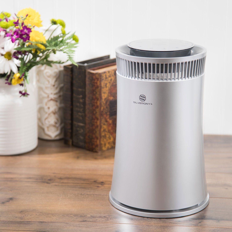 SilverOnyx Air Purifier True HEPA Carbon Filter UV Light