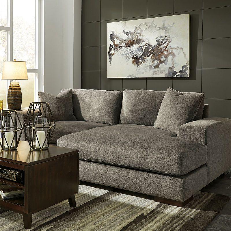 Signature Design By Ashley Manzani 2 Pc Sectional Furniture