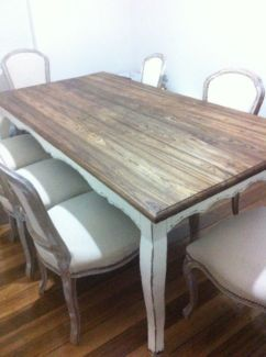 french provincial dining table tables gumtree australia moreland rh pinterest com