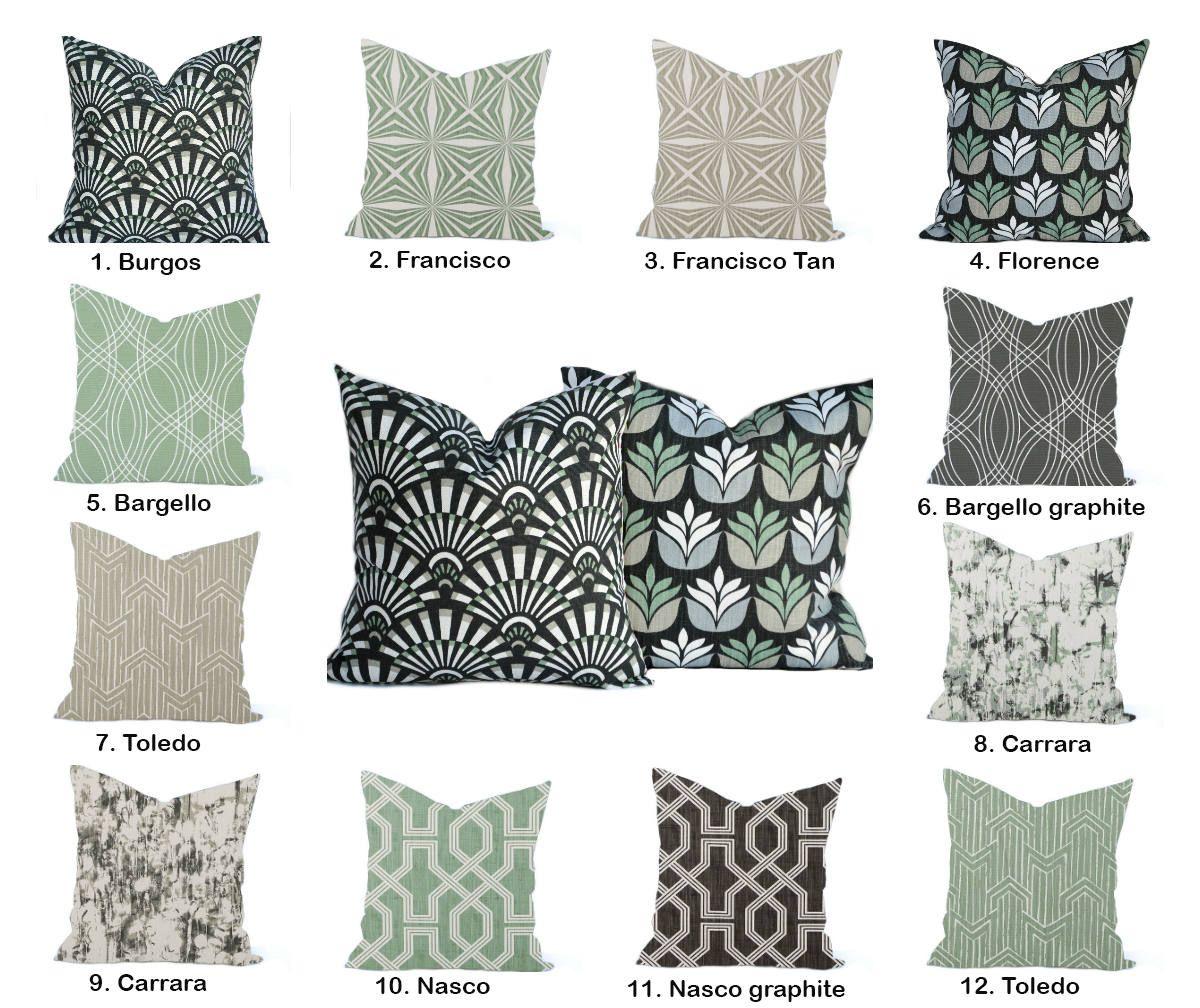 1 Scott Living Home Decor Cover Sage Green Pillow Decorative Etsy Green Pillows Decorative Green Throw Pillows Green Pillows