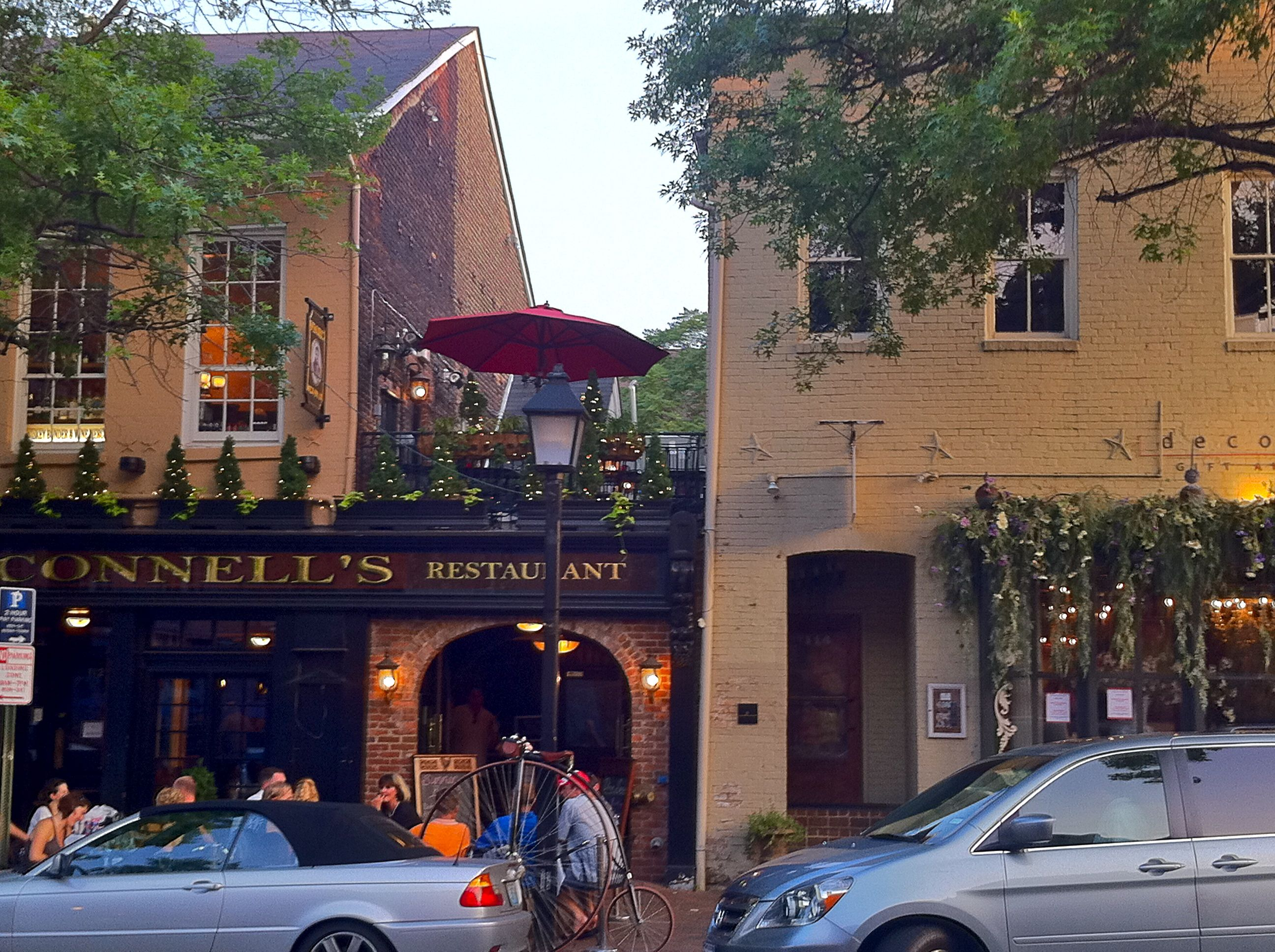 From A Fan Old Town Alexandria Love The Rooftop Bar And Restaurant Seating O Connell S Great Place