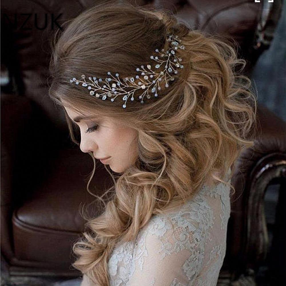 HP Wedding Elegant Accessories with Crystal Pearls and Rhinestone