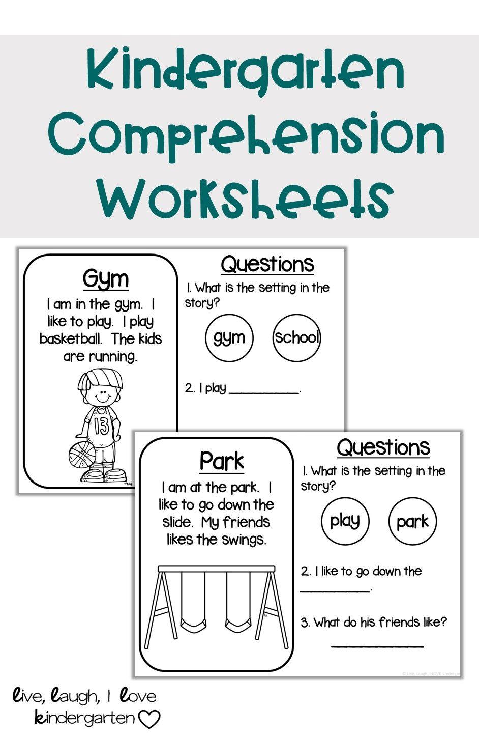 Kindergarten Comprehension Worksheets Kindergarten Comprehension Kindergarten Comprehension Worksheets Kindergarten Reading Centers [ 1444 x 942 Pixel ]