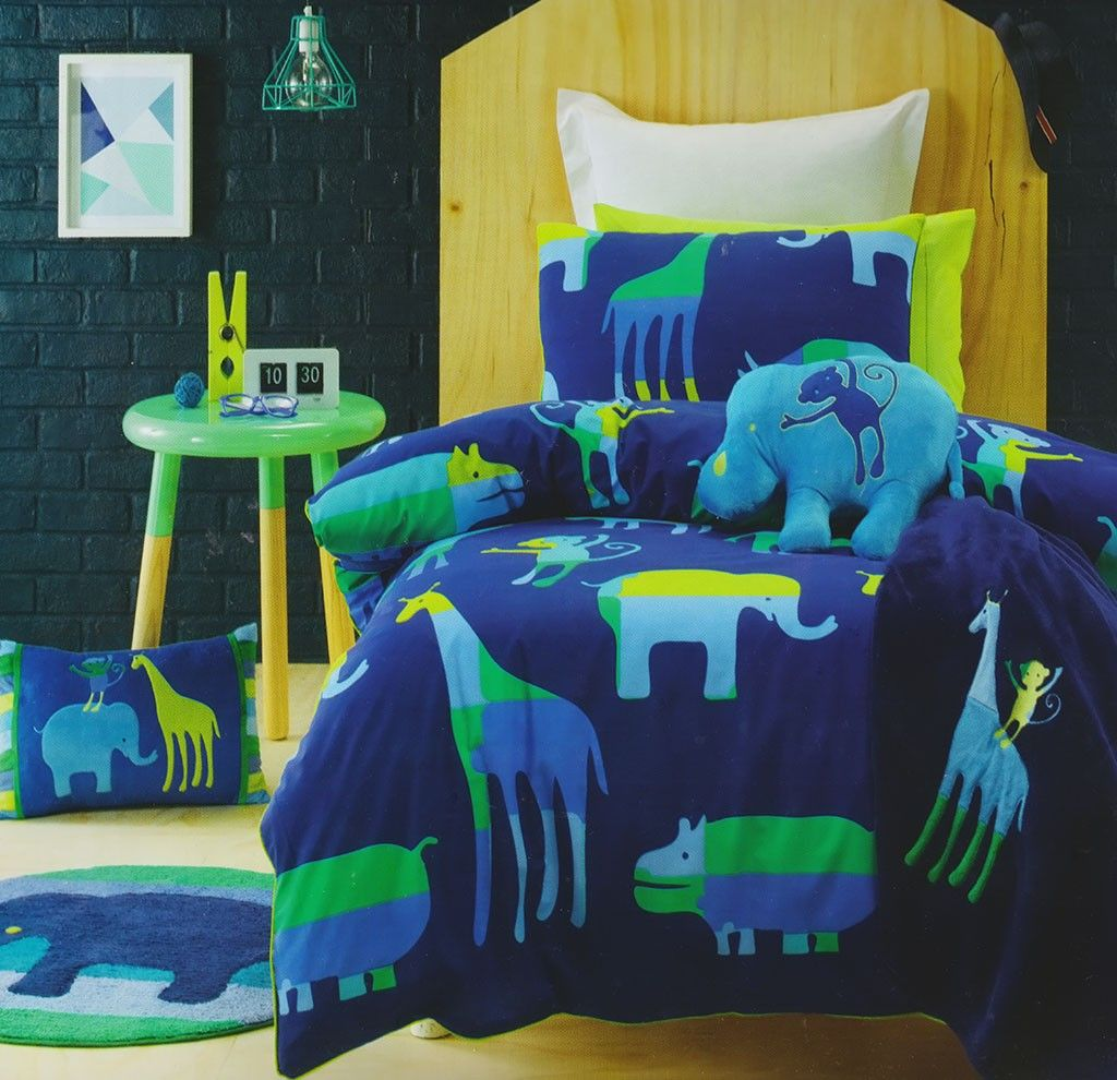 Animal Patch Quilt Cover Set | Patch quilt and Quilt cover : kids quilt covers boys - Adamdwight.com