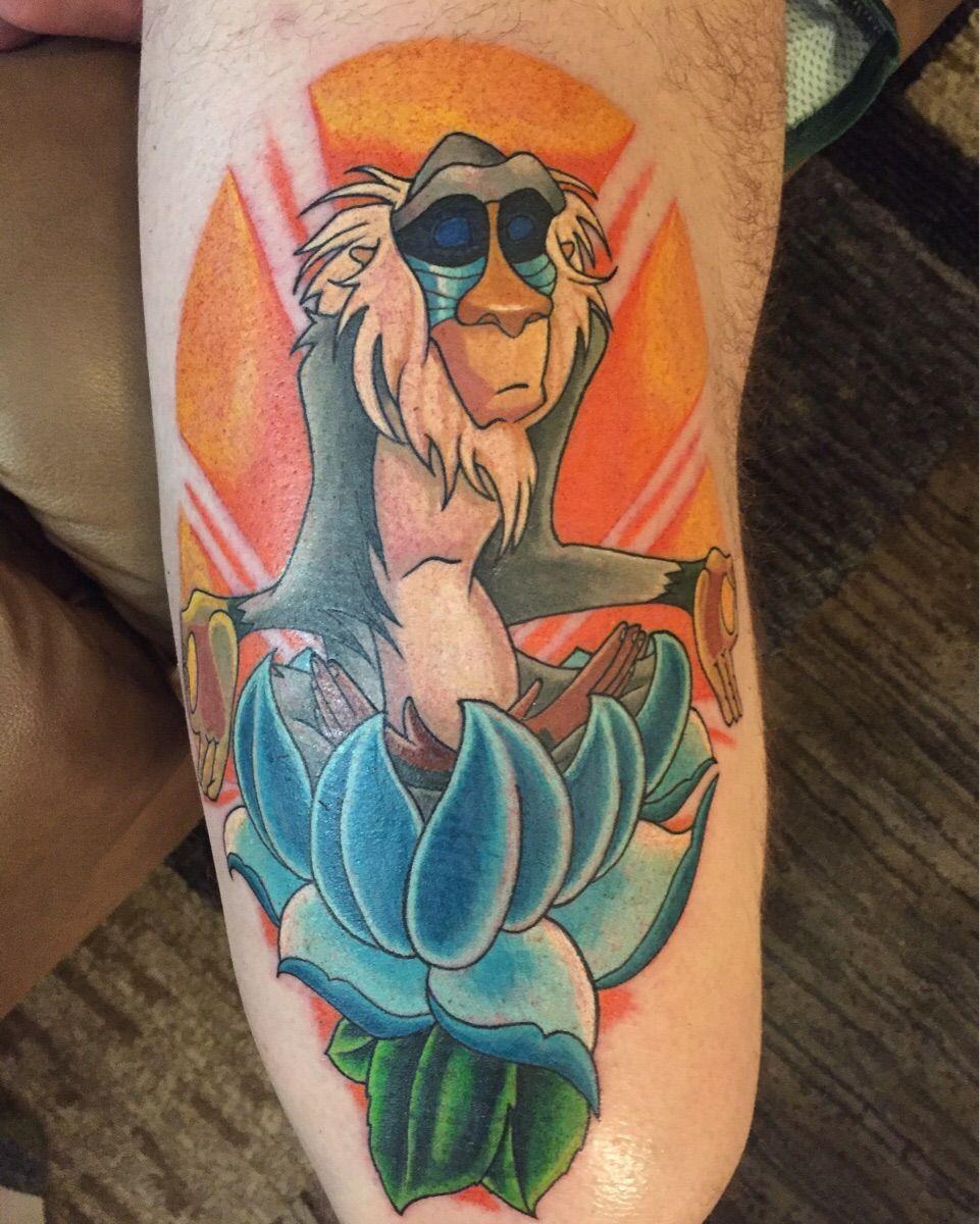 Rafiki Tattoo I got done at Davinci Studios | Rafiki ...