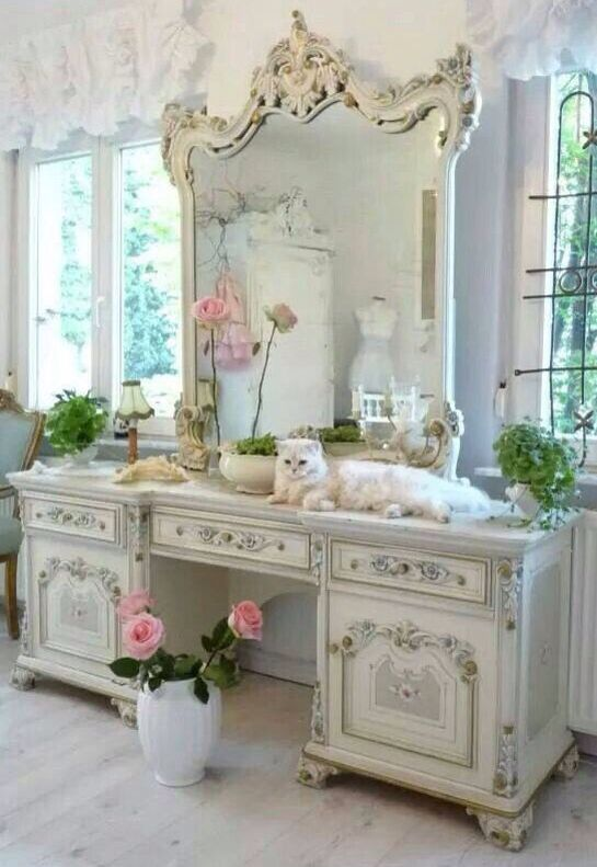 beautiful vanity shabby chic pinterest muebles decoraci n rh co pinterest com