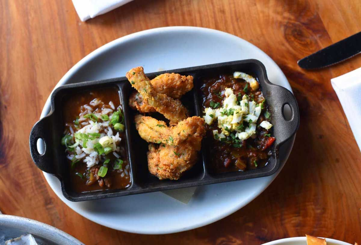 Fried frog legs are a popular appetizer at Boxing Room - a rare treat in San Francisco