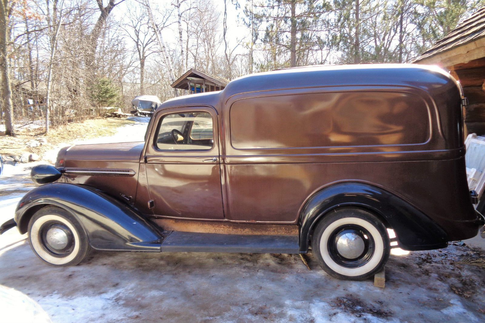 1937 Dodge Ram Van Half-Ton 'Humpback' / Panel Sedan Delivery | eBay