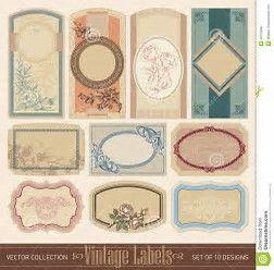 Kuvatulokset Haulle Blank Vintage Labels