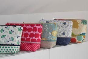 Photo of Boxy Bag nähen: Kosmetiktasche   Gratis-Anleitung für Anfänger