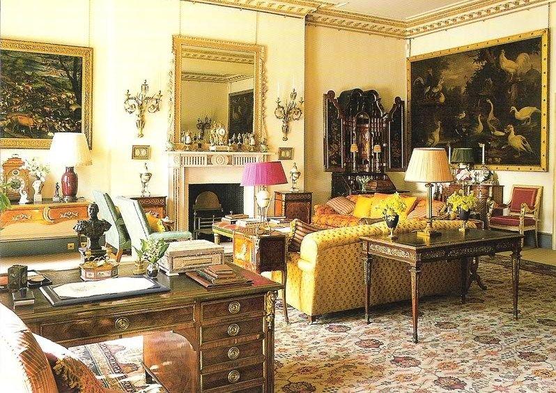Regency Decor Regency Furniture At The Clarence House English Delectable Regency Interior Design