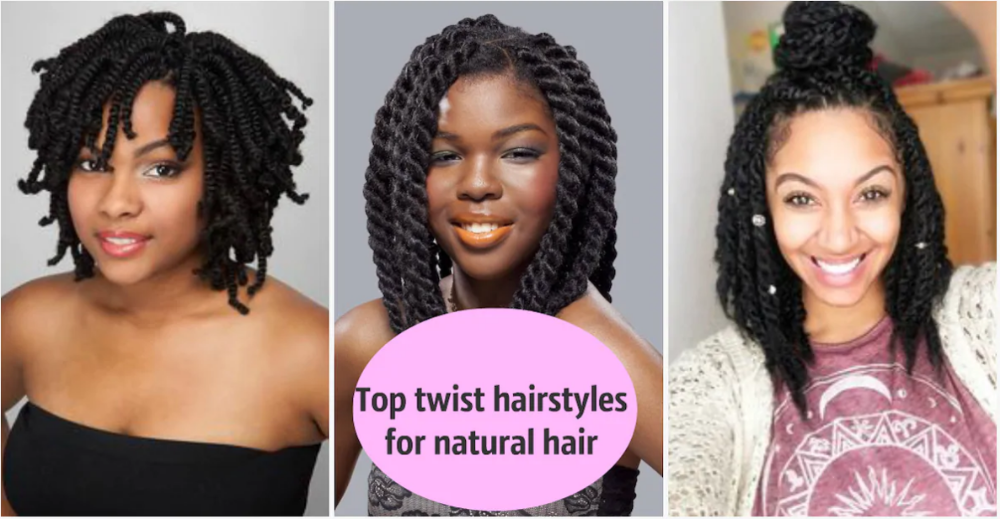 Top 20 Hairstyles For Women 2020 With Images Twist Hairstyles