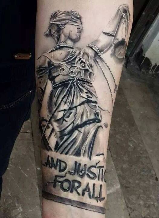 5bdd8fa166b7f Doris.... and Justice for all Tatuagem Metallica, Metallica Tattoo,  Metallica