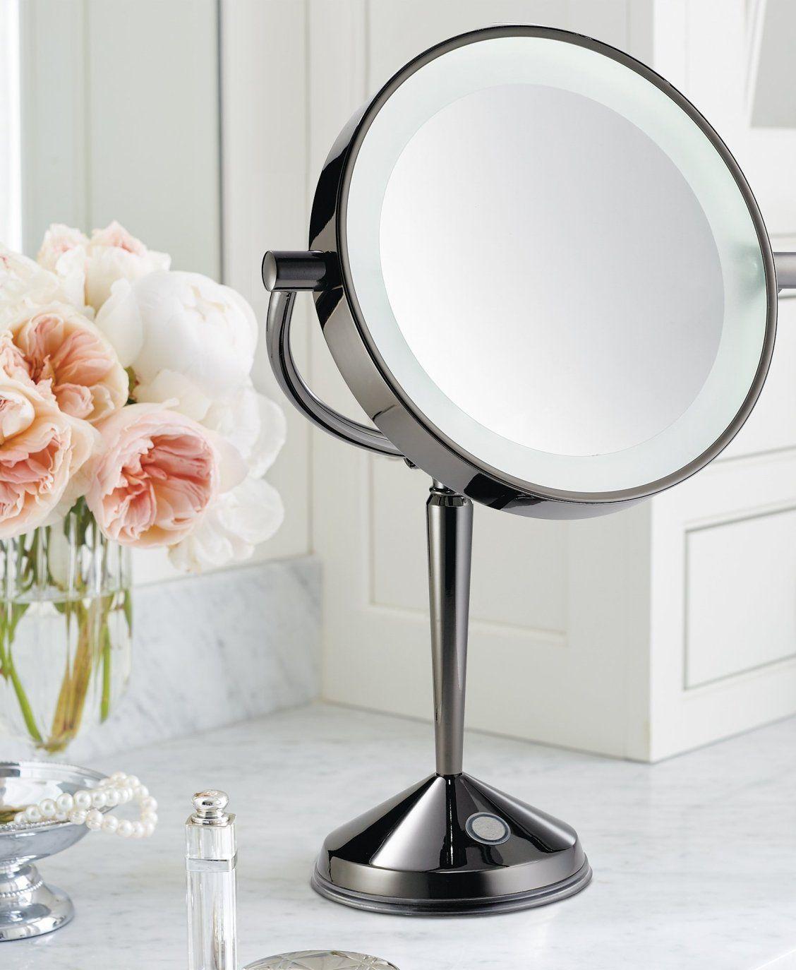 LED Articulating Rechargeable Vanity Mirror Diy vanity