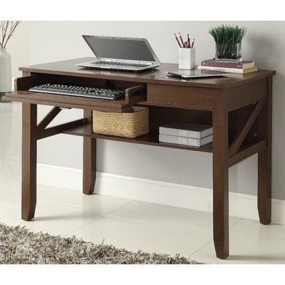 osp designs landon computer desk wayfair bedroom ideas rh pinterest com