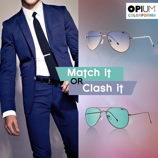 Would sport a suit and go for the Royal blue look or wear green for the quintessential quirky look?  #MatchItorClashIt