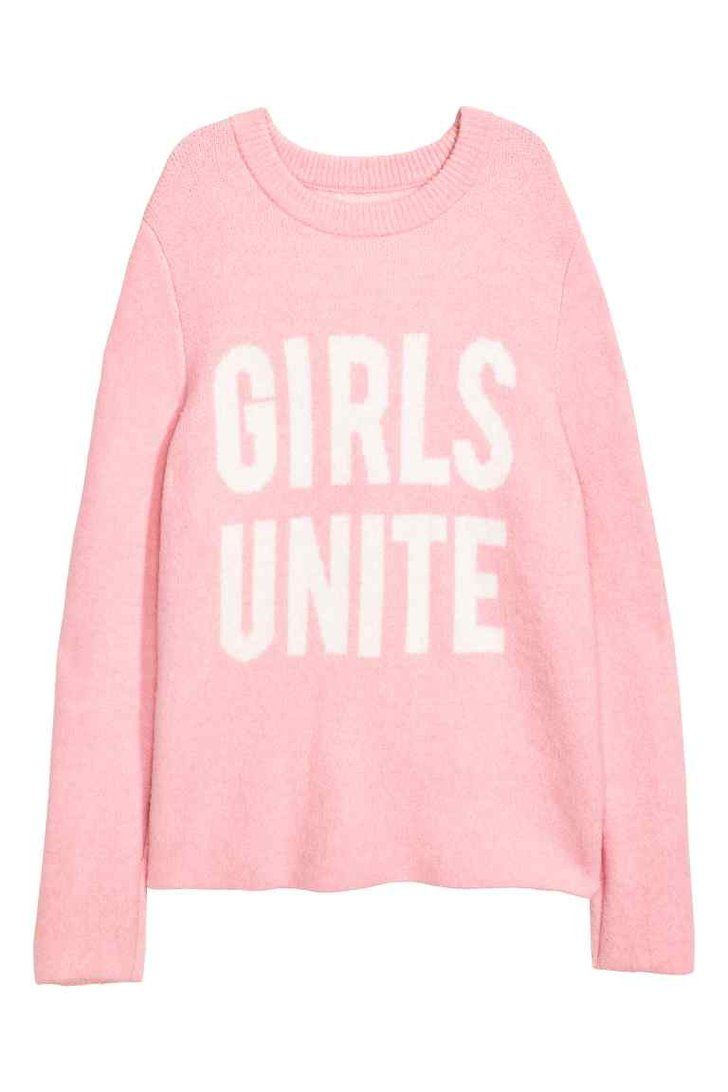 H M Girls Unite Jumper  5f0fb556e6