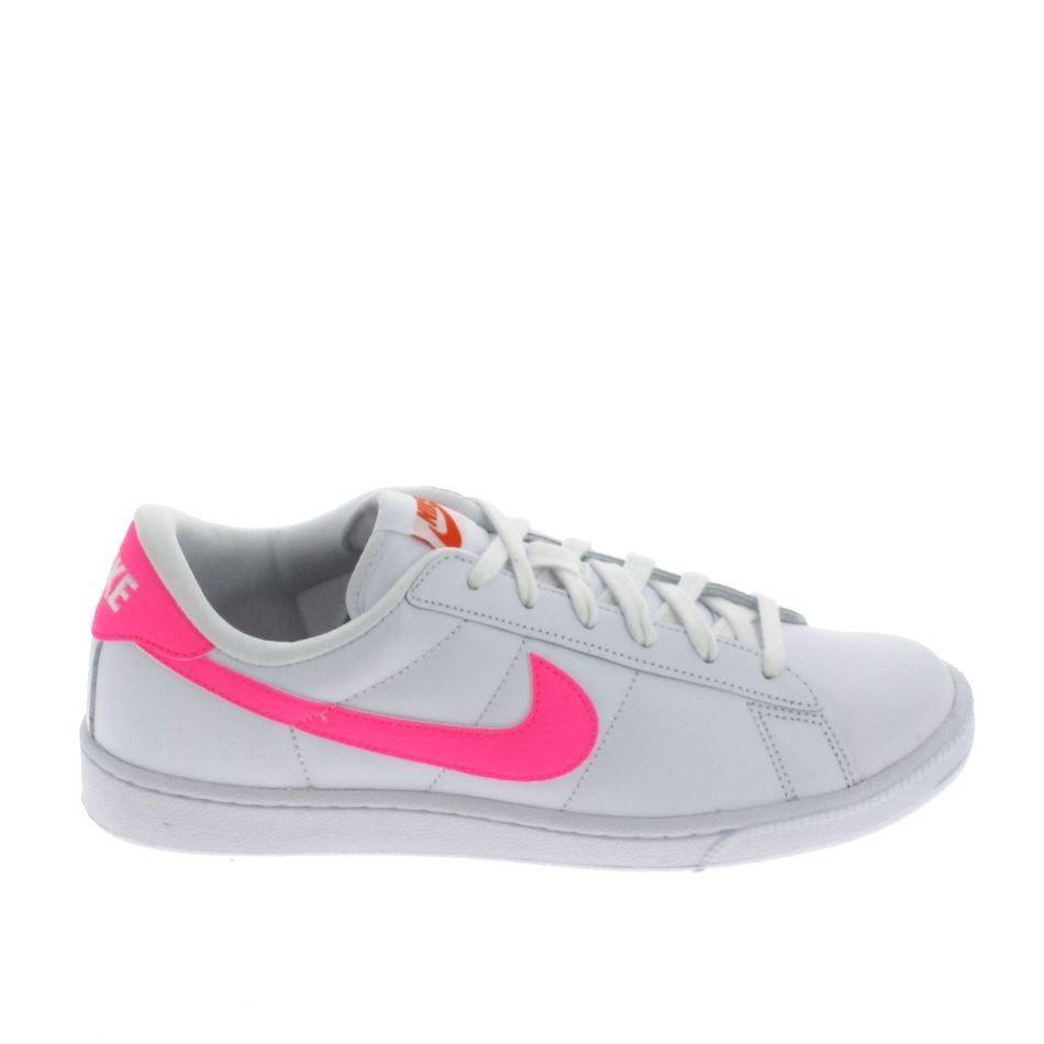 NIKE Tennis Classic Blanc Rose | Basket sport, Nike ...