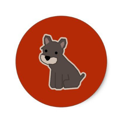 Dog chinese new year classic round sticker dog puppy dogs doggy pup hound