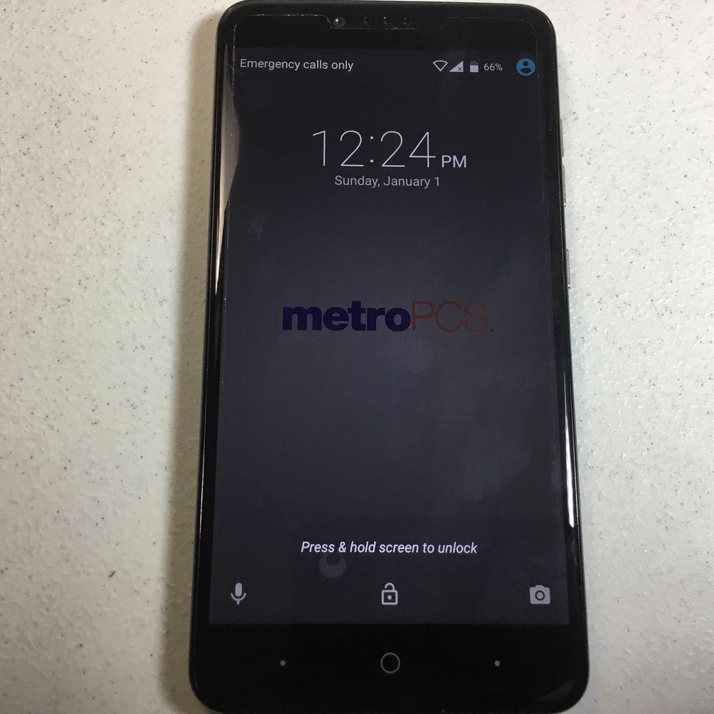 ZTE ZMAX Pro Z981 - 32GB - Black (MetroPCS) Smartphone #ZTE