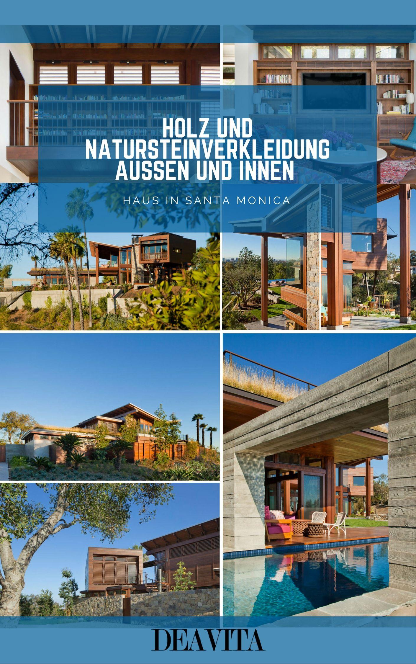 Wie lässt sich Natursteinverkleidung außen und innen modern ...