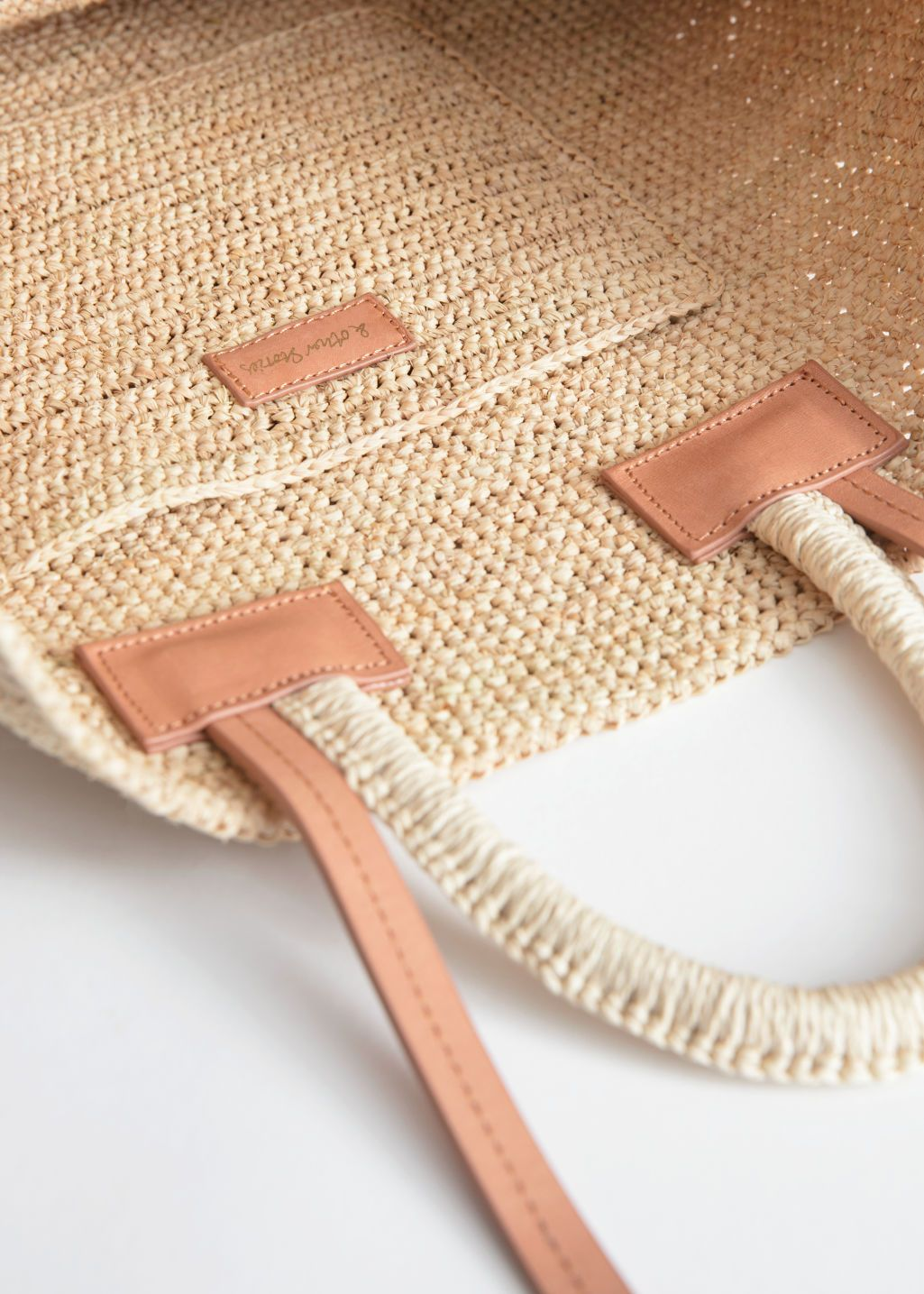 66a249d2b Large Woven Straw Tote - Beige - Straw bags - & Other Stories