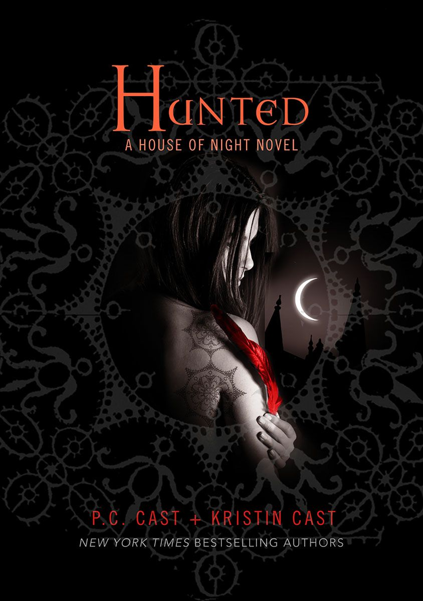 Hunted (book 5) In The House Of Night Series By Pc Cast And Kristin