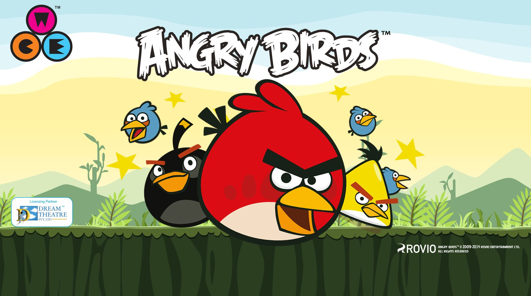Angry Birds was the star attraction at World Children Expo with young and old alike vying to play the Angry Birds game and buy the Angry Birds products. World Children Expo 2014 was held in Ambience mall Gurgaon, dedicated to kids, families and fun!