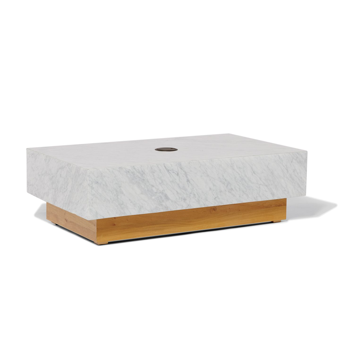 Marble Block Coffee Table Products West Elm Workspace Marble
