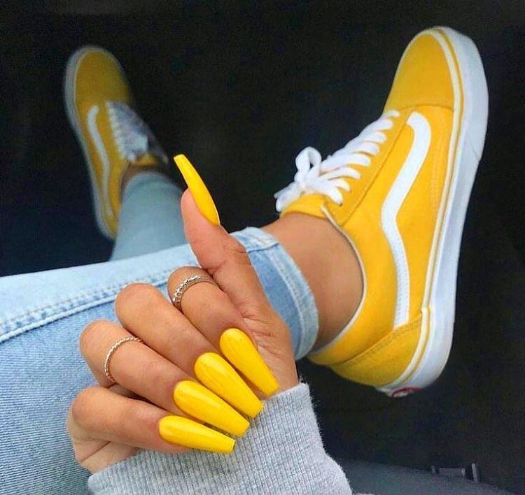 a2a5f11e6 Vans amarelas 💛