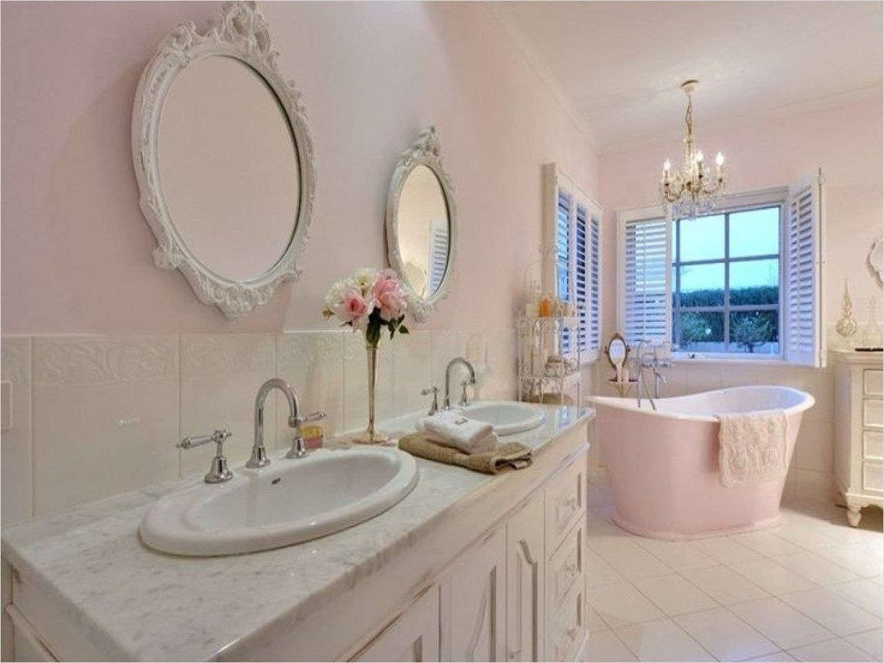 42 Gorgeous Shabby Chic Bathroom Accessories Ideas With Images