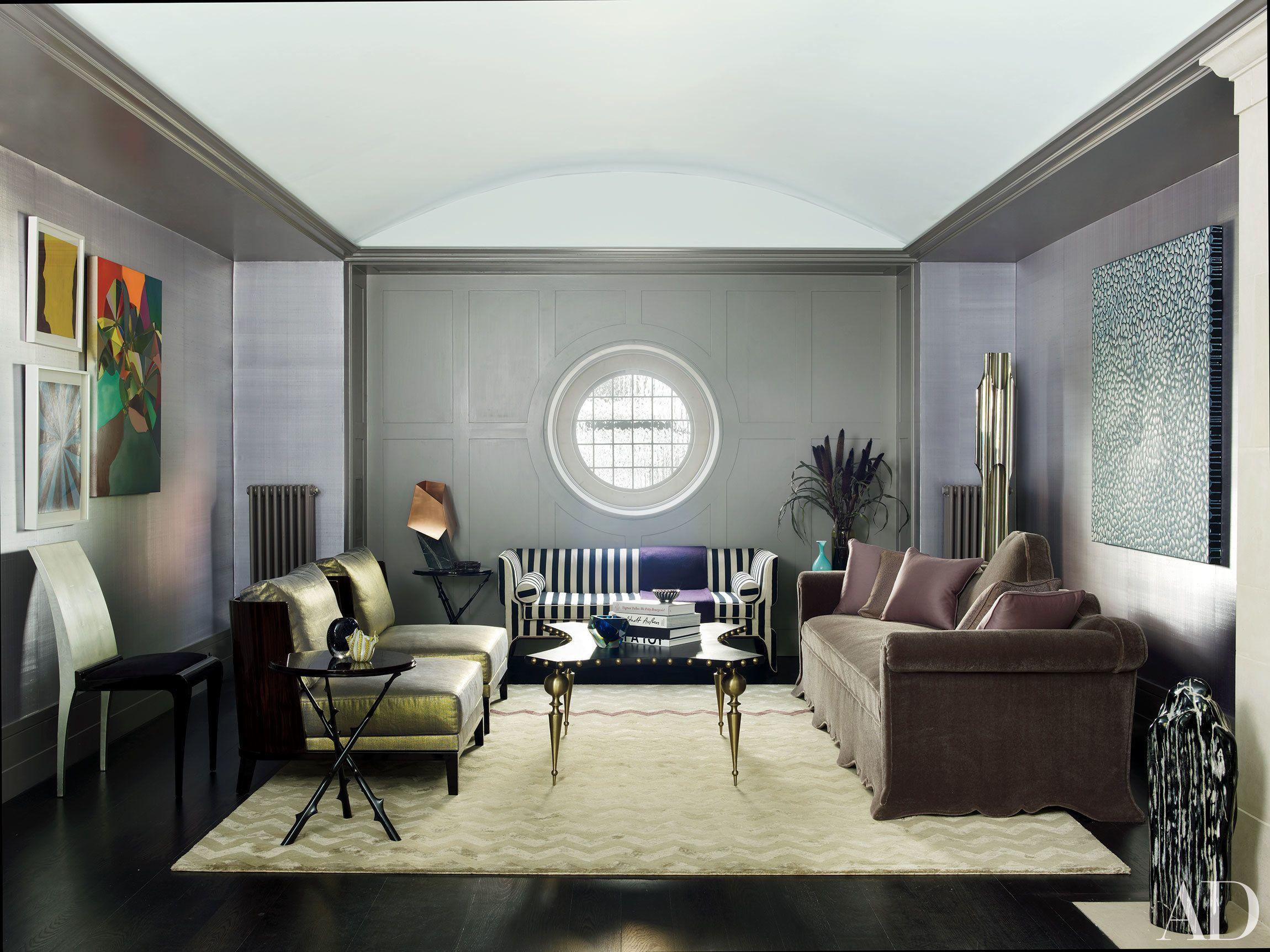 Eye Popping Interiors by International Decorator Rafael de