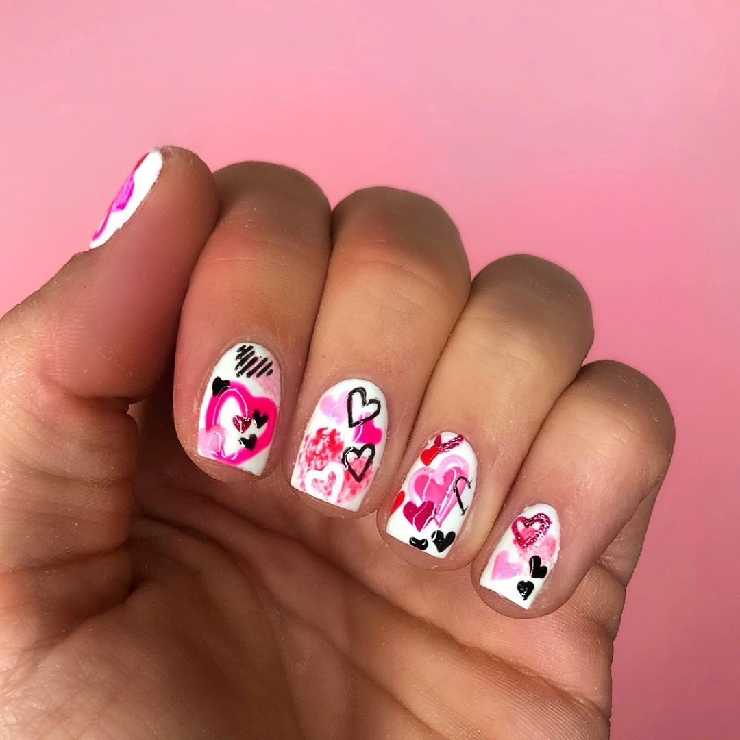 Happy Valentines Day Huns  ... and that's the end of it for this year! I've love..., #* #boohoo #egoofficial #femmeluxefinery #loveheartnails #missguided #nail #nailart #naildesigns #nailporn #nailpro #nails #nailsmagazine #nailsofinstagram #nailsoftheday #nailsonfleek #prettylittlething #publicdesire #scratchmagazine #simmishoes #toplinenails #valentinesnails #vincentnails