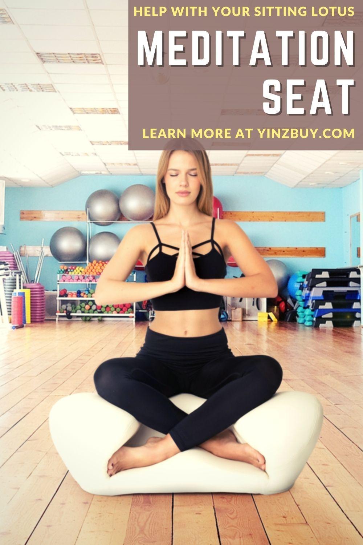 Alexia Meditation Seat for a Zen Yoga Lotus Sitting Position ...