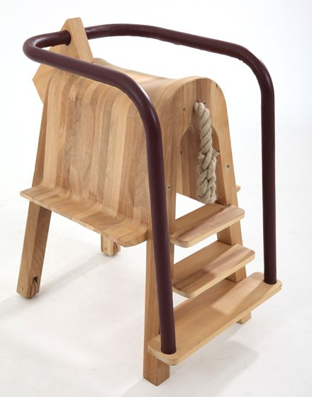 A Pony Ride While Eating? How Fun Is The Play And Eat Saddle Seat By  Tamasine Osher . An Intermediate Step Between The Highchair And Ta.