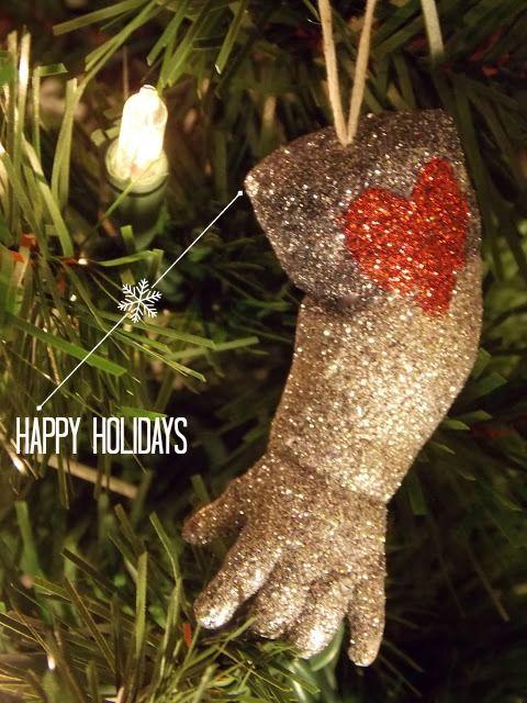 DIY glittery baby doll part Christmas ornaments Baby dolls - christmas decorations diy