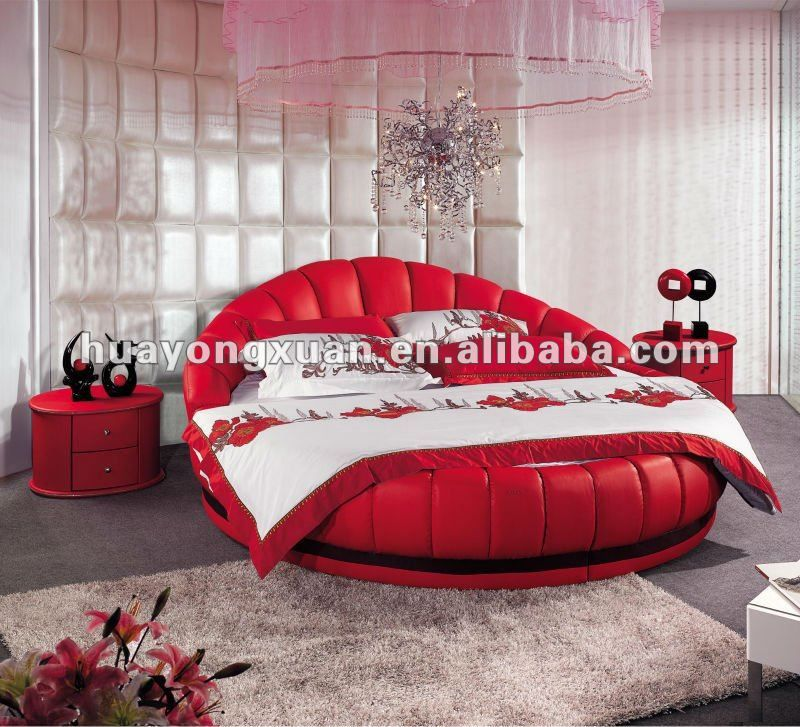 King Size Round Bed On Sale Cheap Round Beds Rb001 With Images