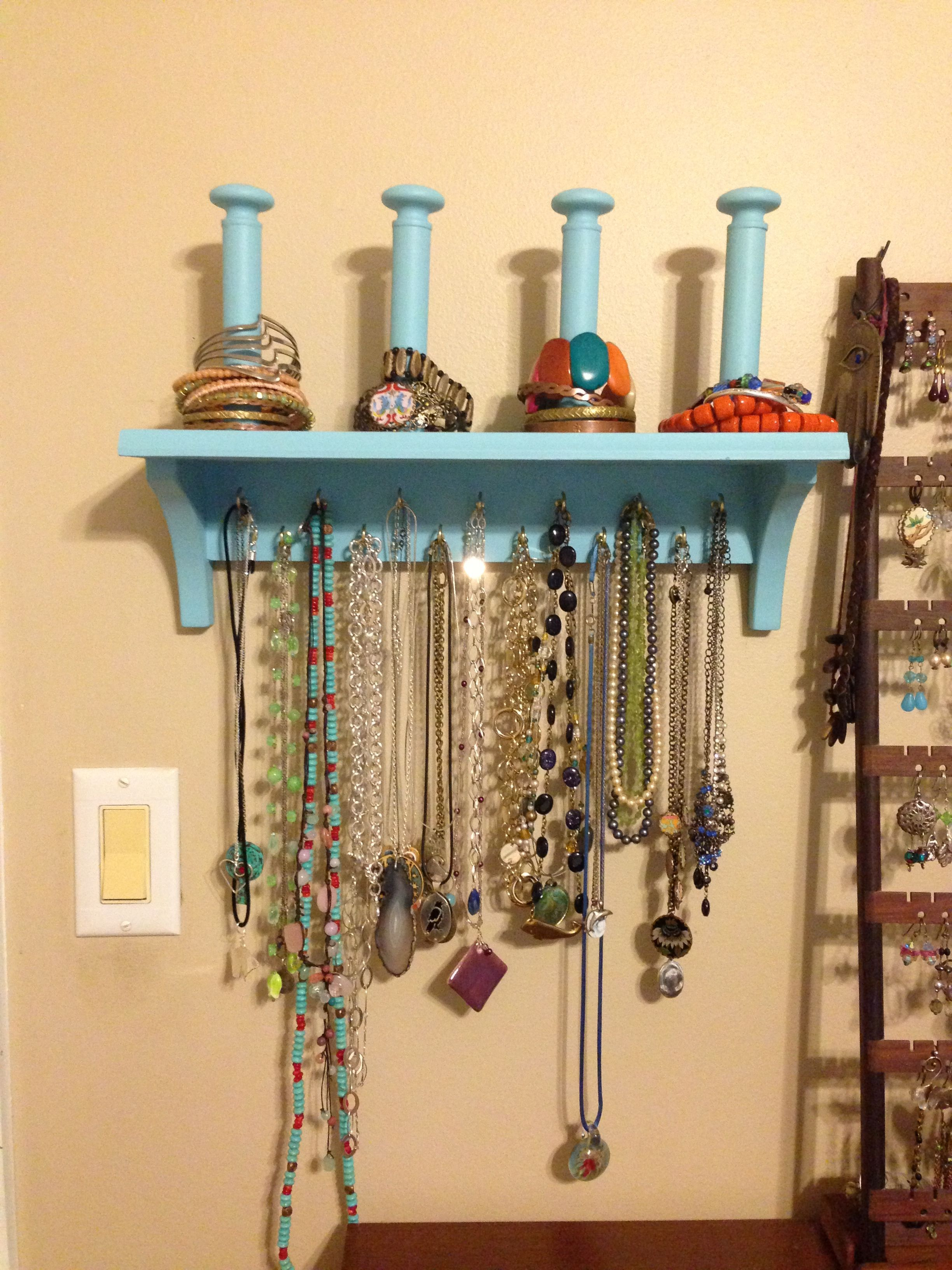 Diy Jewelry Display For Necklaces And Bracelets